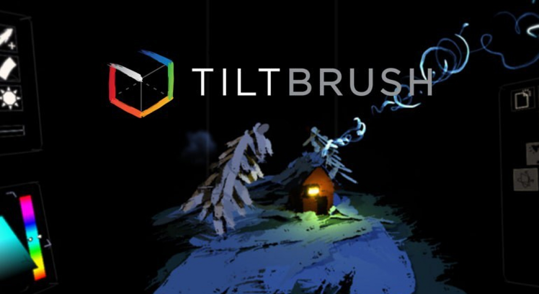 Tilt Brush by Google – Painting from a new perspective
